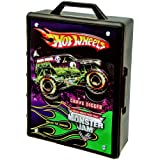 Monster Jam Hot Wheels 15- Truck Storage With Carrying Handle