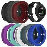 for Garmin Vivoactive 3 Watch Protective Case,RunTech Soft Silicone Case Cover Protector Sleeve for Vivoactive 3 Band Cover (8-Pack) (Color: 8-Pack)