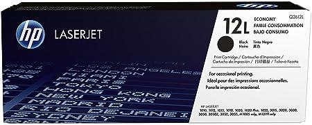 HP 12L Cartouche de toner Basse capacité 1,000 Pages Noir