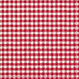 Checked gingham red white vichy paper 3 ply napkins 33 cm square 20 in a pack