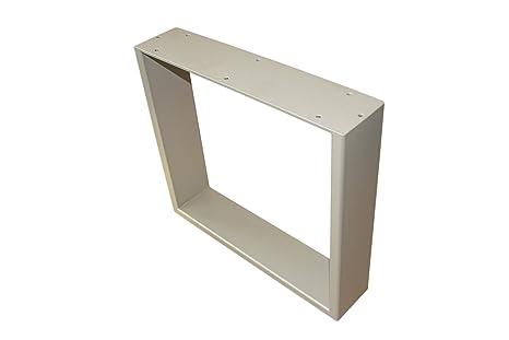 """'Design Industriel Armature de table """"Constantia clair Bronze Par pulvérisation 80x 70"""