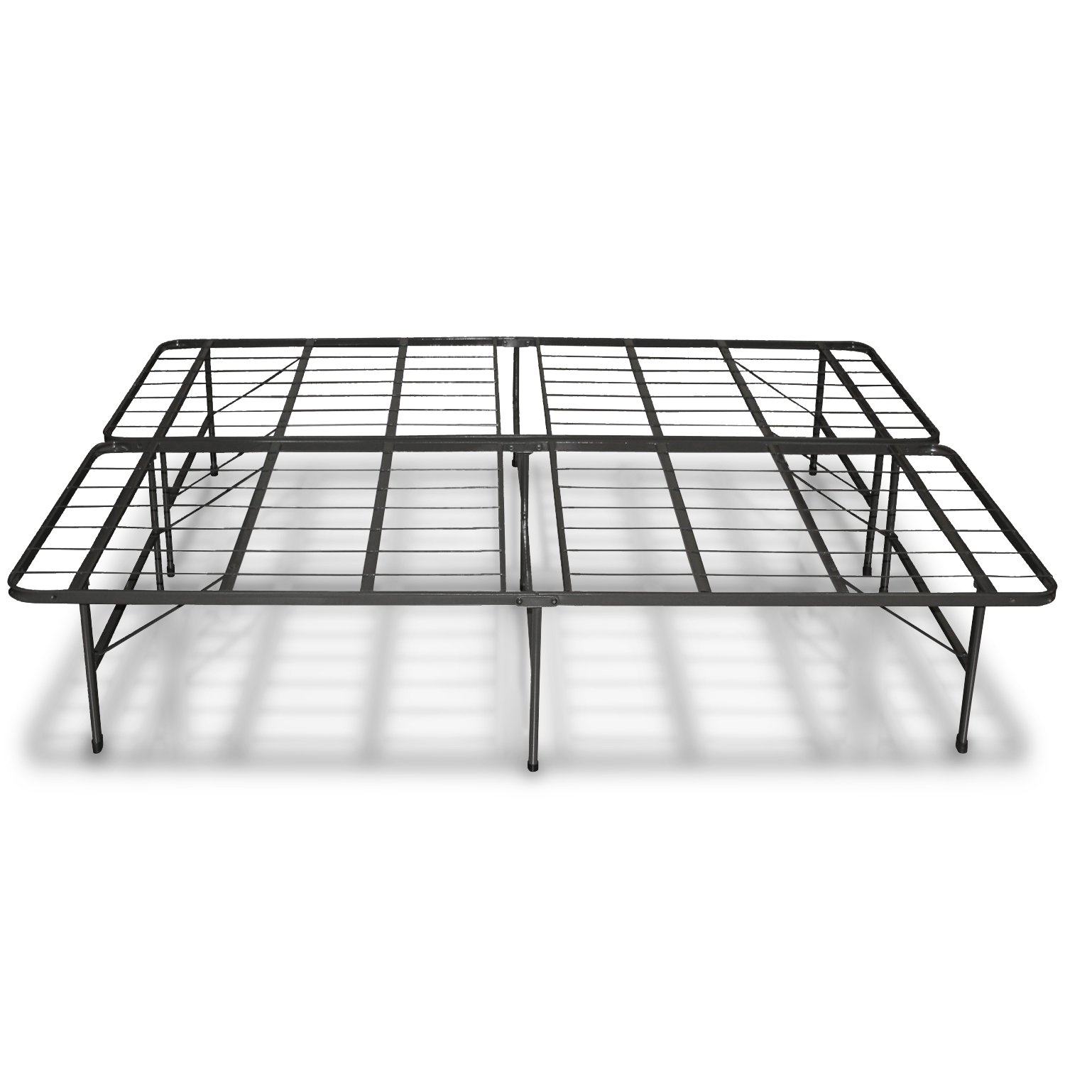 best price mattress new innovated box spring metal bed frame queen new free ebay. Black Bedroom Furniture Sets. Home Design Ideas