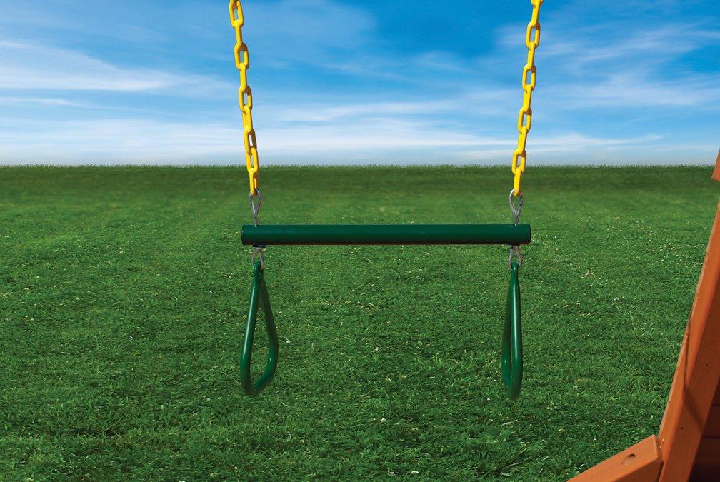 Gorilla Spielsets 04–0006-g-y 17in. Trapeze Bar mit Ringe Zubehör günstig bestellen