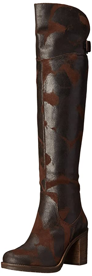 Donald J Pliner Women's Taria Over-the-Knee Boot, Espresso Vintage Suede, 7 M US