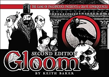 Atlas Games - 330097 - Jeu De Cartes - Gloom - 2nd Edition