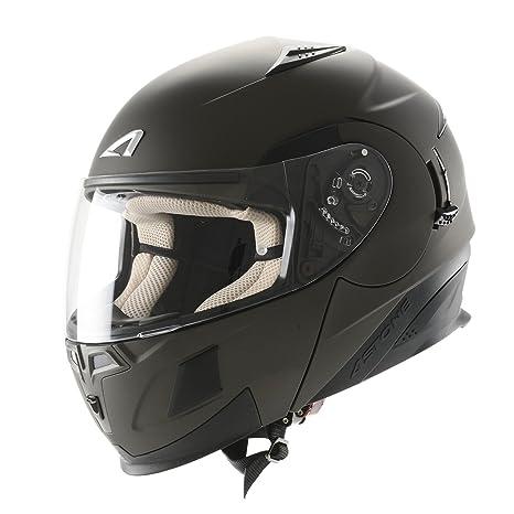 Astone Helmets RT1000MEX-MGMXL Casque Modulable RT1000, Gris (Gun Metal Matt), XL