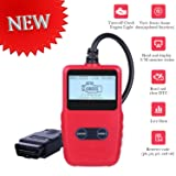 [2018 Upgraded] OBD2 Scanner Auto Car OBDii 2 Code Reader CAN Diagnostic Scan Handheld Tool Check Engine Light Trouble Codes Vehicle AUTMOR