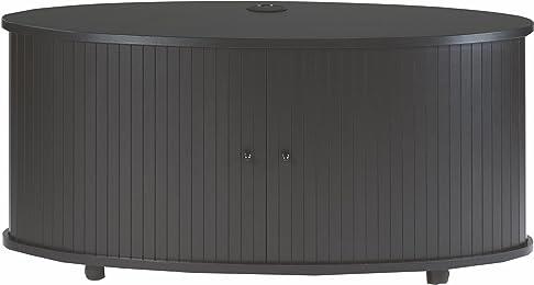 Simmob print110no Mobile TV pannello/legno nobilitato nero 50,8x 110,4x 45,4cm