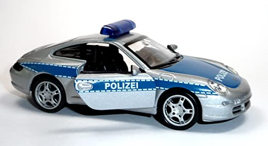 porsche 911 carrera police allemand vehicule miniature 12cm. Black Bedroom Furniture Sets. Home Design Ideas