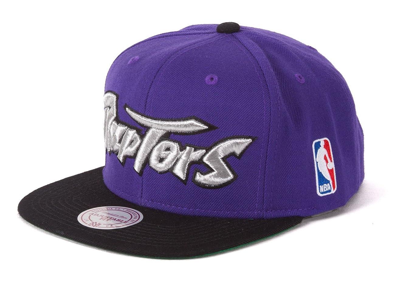 Toronto Raptors 2-Tone Vintage Snap back Hat 1