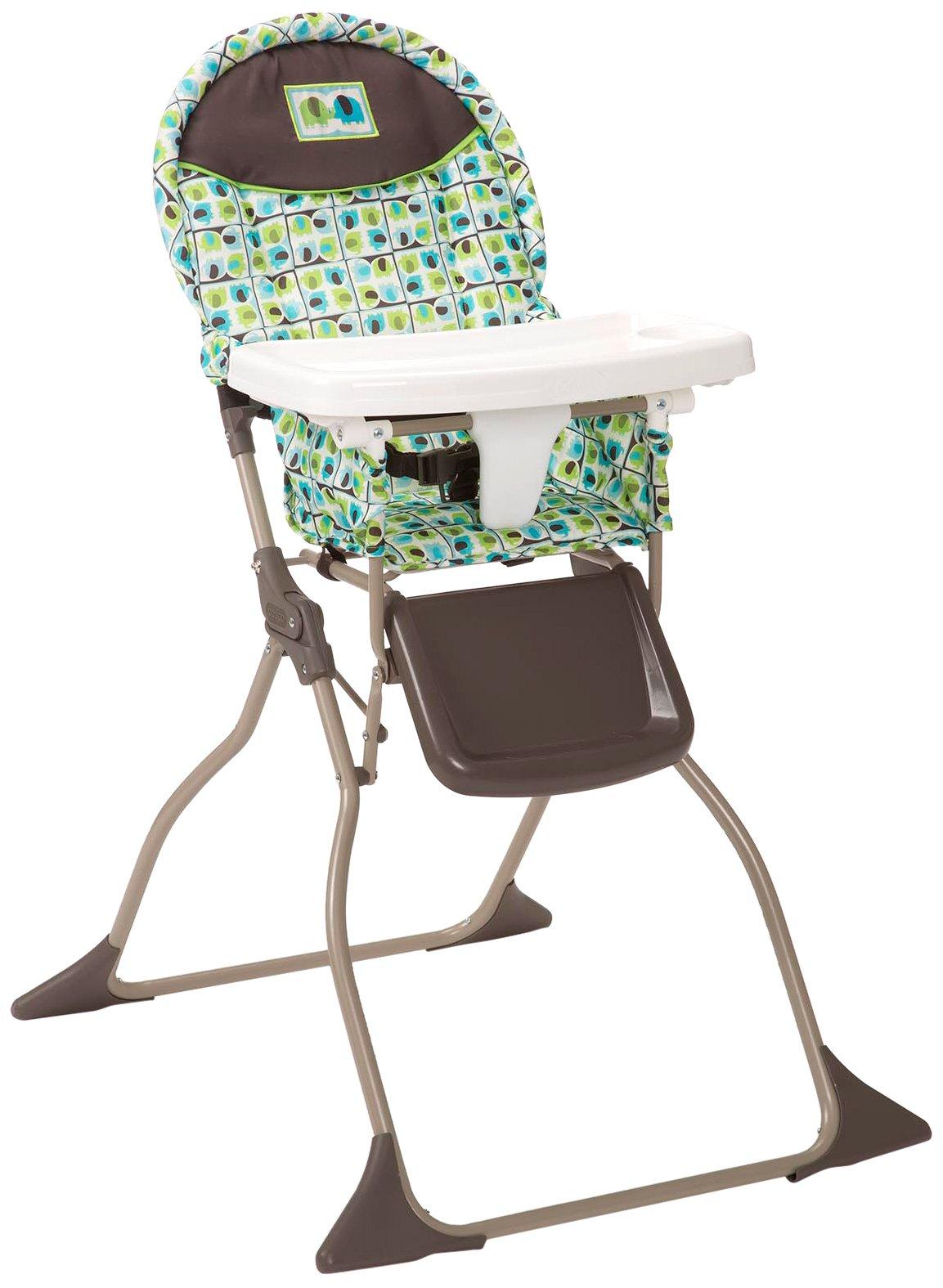 Cosco Simple Fold High Chair Elephant Squares Elephant Squares