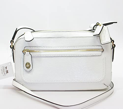 White Leather Crossbody Bag 54