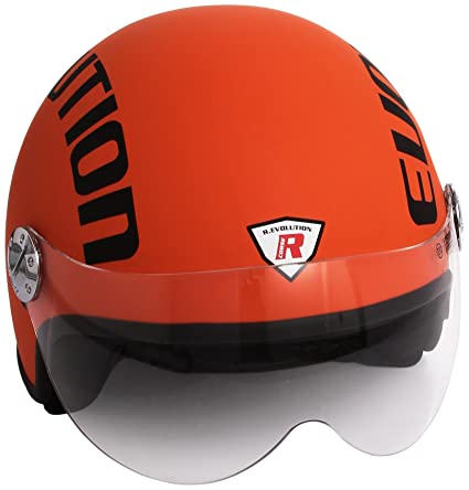 Bottari Moto 64451 Casque Evolution, Orange, L