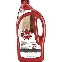 Hoover Multi-Floor Plus 2X Concentrated Hard Floor Cleaner Detergent Solution, 32oz