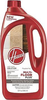 Hoover Plus 2X Hard Floor Cleaner Detergent Solution, 32oz