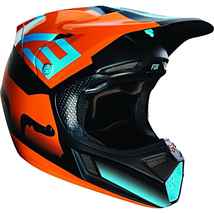 Casque Motocross Fox 2016 V3 Shiv Orange