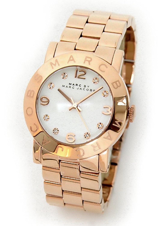 Amazon.co.jp: マークバイマークジェイコブス腕時計[MARCBYMARCJACOBS時計]( MARC BY MARCJACOBS 腕時計 マーク バイ マークジェイコブス 時計 )/レディース時計/MBM3077並行輸入品: 腕時計通販