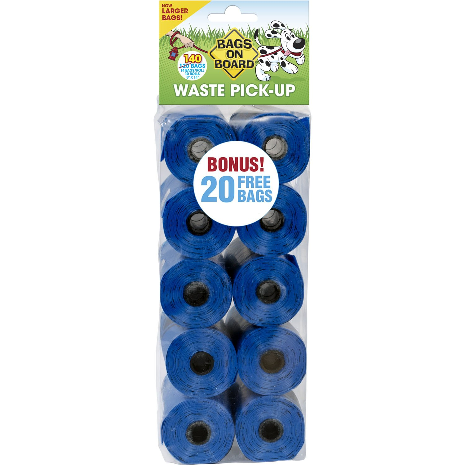 Bags on Board Blue Bag Refill Pack