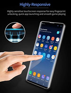 38e70b67f39 ESR Screen Protector [TPU Film] Compatible with Samsung Galaxy S10 Plus,  2-Pack [Plus 1 Extra for ...