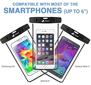 Premium Quality ] Universal Waterproof Phone Holder with ARM