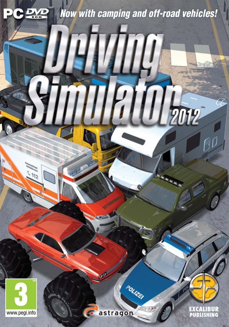 Driving Simulator 2012 cover