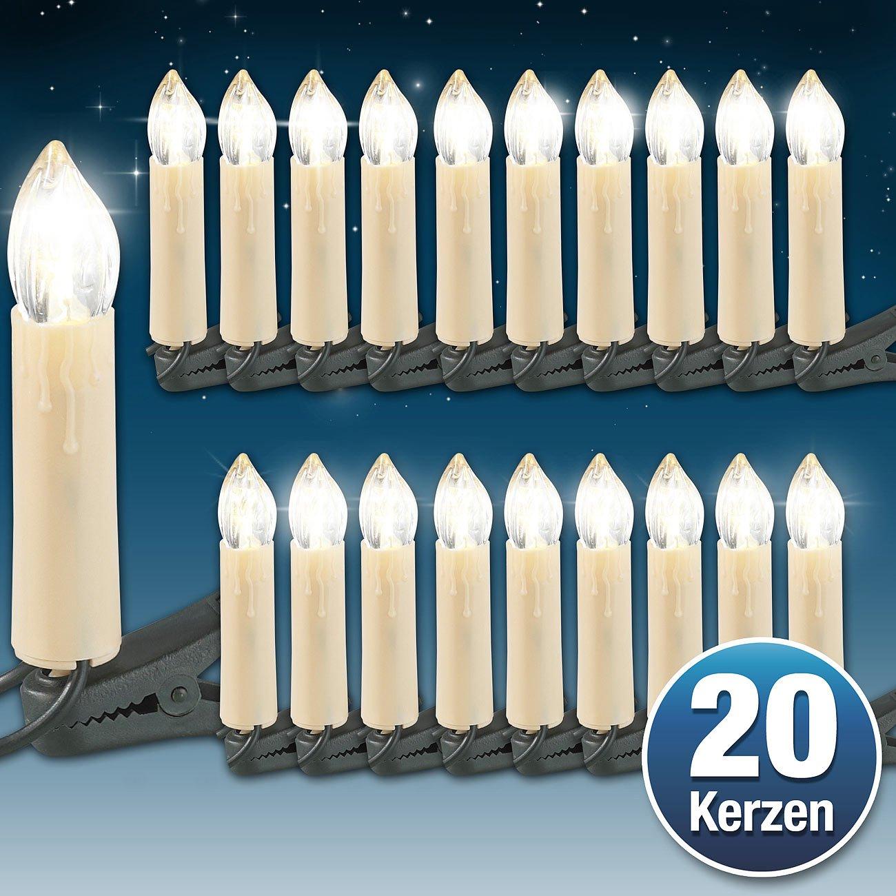 Lunartec LED-Weihnachtsbaum-Lichterkette