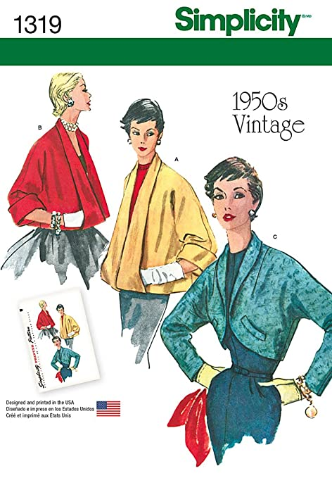 1950s Style Coats and Jackets  Set of Jackets with Vintage Styling Size 14-16-18-20-22                               $11.60 AT vintagedancer.com