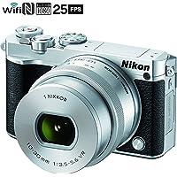 Nikon 1 J5 20.8MPMP Full HD 1080p Mirrorless Digital Camera with 10-30mm Lens (Silver)