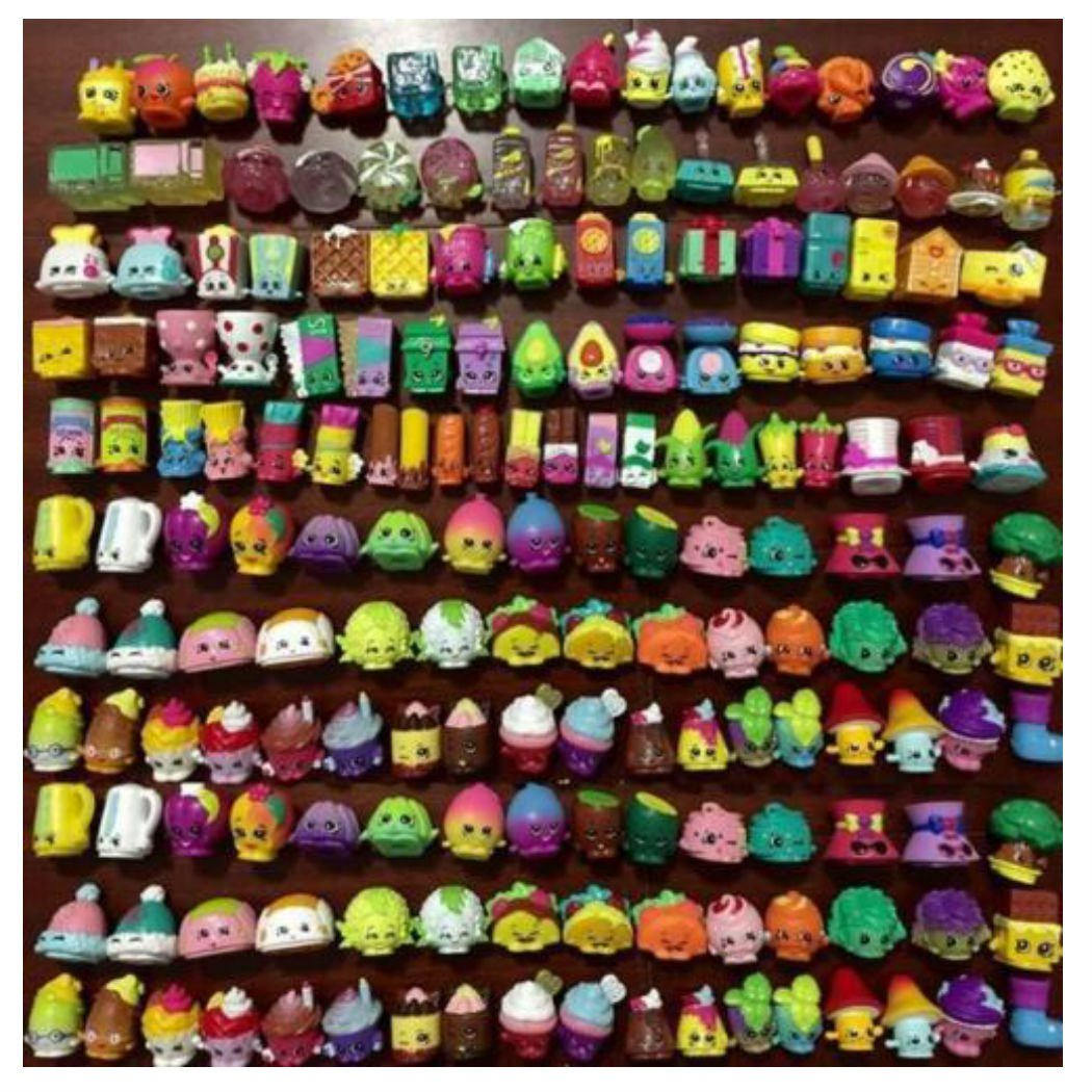 Random Lot of 30PCS Shopkins of Season 1 2 3 All different Loose toys gift