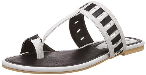 Nell Women's White Fashion Sandals - 5 UK (VT-204)