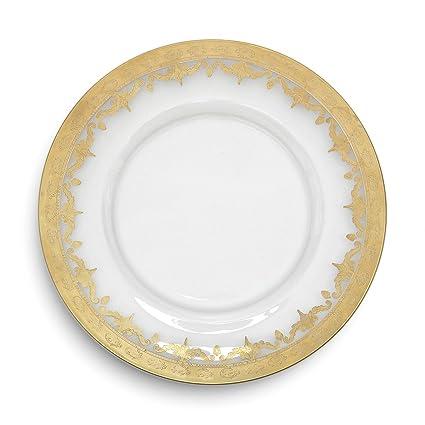 Arte Italica Vetro Gold Charger Plate by Arte Italica