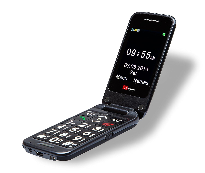 ttfone tt31 venus 2 big button senior flip mobile. Black Bedroom Furniture Sets. Home Design Ideas