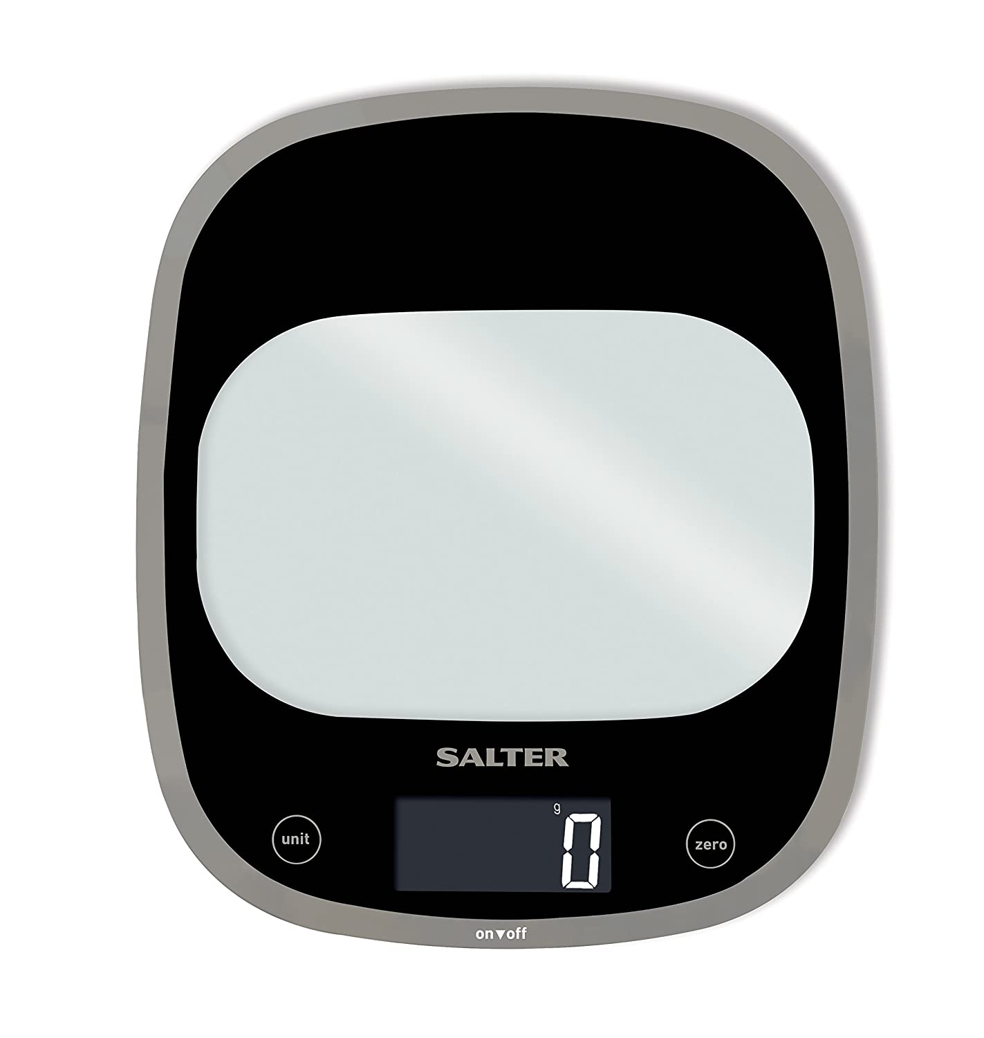 Salter Curve Glass Electronic Digital Kitchen Scale