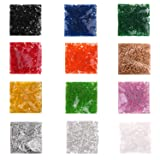 AOWA 2.6mm 12 Colors Approx.6000pcs Fuse Bead for DIY Craft Toy (Each Color with 500pcs) (Color: 12 colors 2.6mm bead)