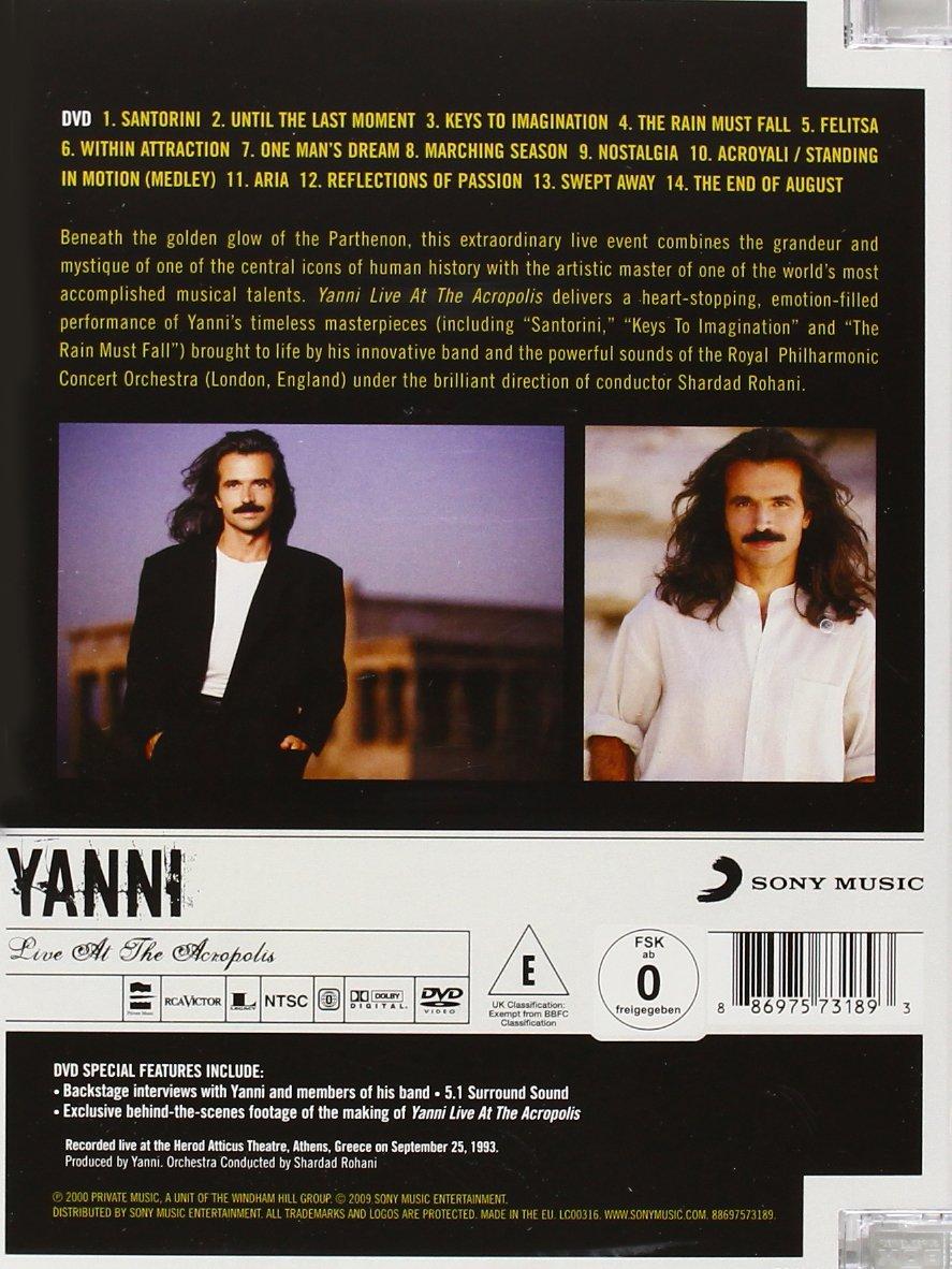 Yanni live at Acropolis video Download