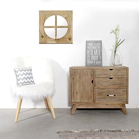 farinier pátina madera cepillado 2cajones, 1puerta | dn601