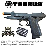 Taurus PT99 Fully and Semi Auto Metal CO2 Airsoft Gun, Pistol With Smith & Wesson and Swiss Arms Combo