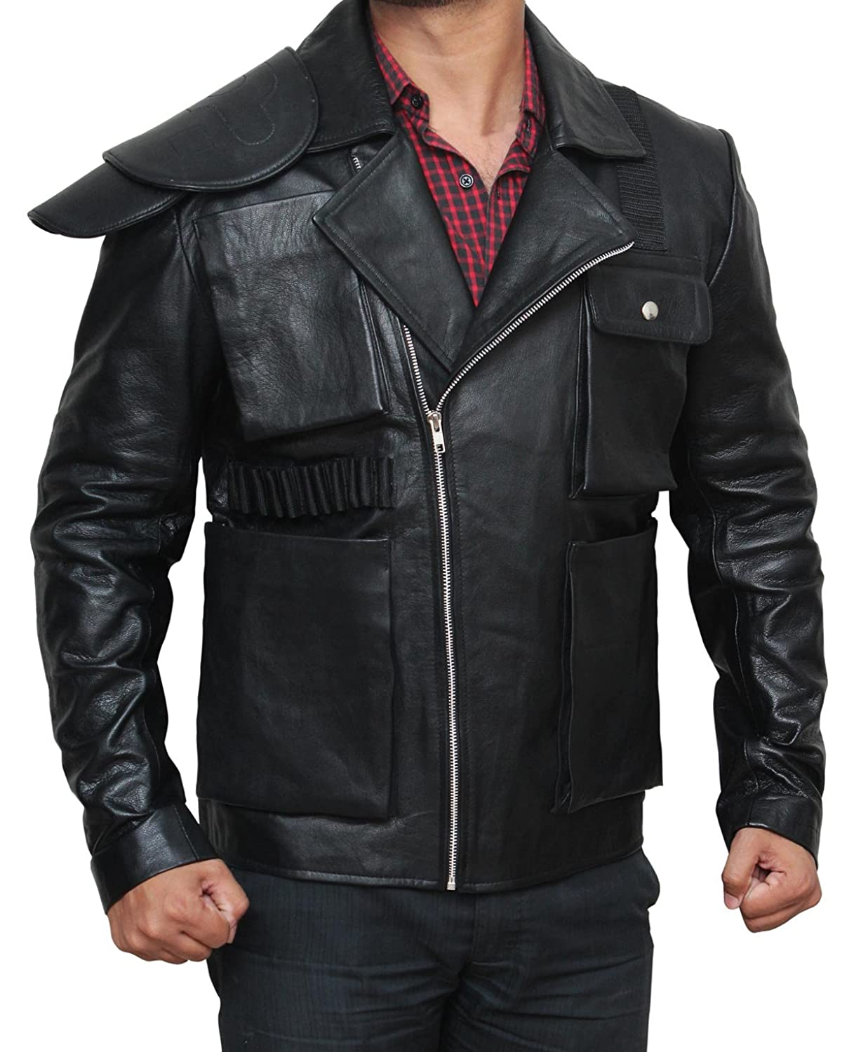 Mad Max Black Leather Motorcycle Jacket