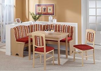 "Eckbankgruppe "" Kreta"", variabel aufbaubar Essgruppe 2 x Stuhl"