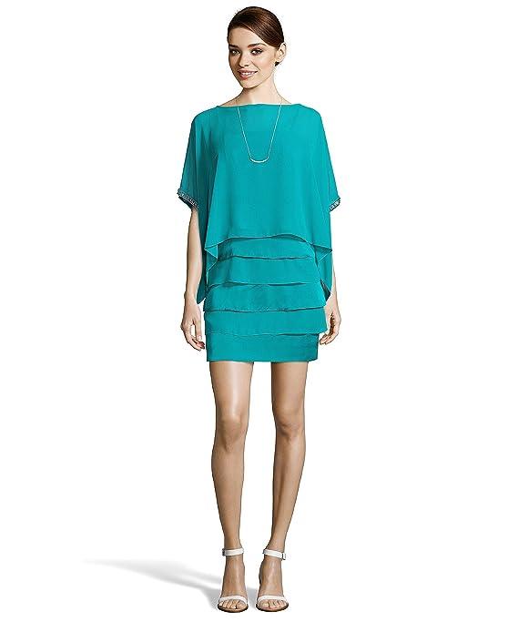 Laundry By Shelli Segal Women's Chiffon Oversized Top Dress