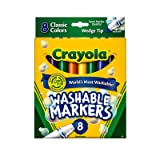 Binney & Smith Crayola(R) Washable Wedge Tip Markers, Assorted Colors, Case of 24 Packs (Tamaño: Case of 24 Cases)