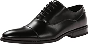 Kenneth Cole Unlisted Men's Half Time Oxford, Black, 9.5 M US