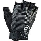 Fox Men's Reflex Gel Shorts Gloves, Black, Medium