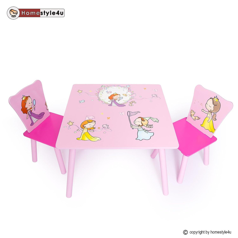Homestyle4u Kindersitzgruppe Kindertisch Kinderstuhl Kinder Möbel Kindermöbel Stuhl Tisch online kaufen