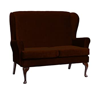 Cavendish Furniture 2-Seat Sofa, Chocolate Brown