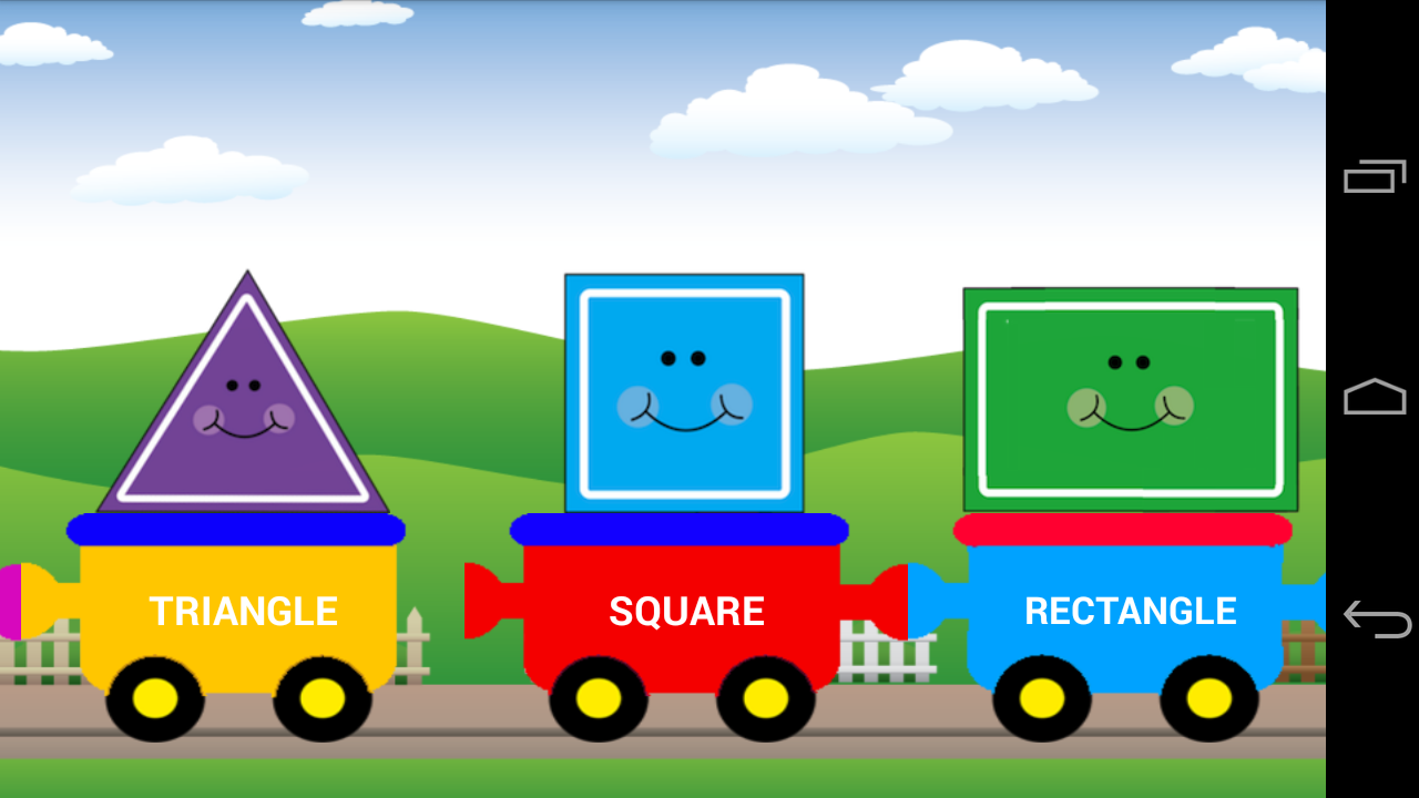 Amazon Com Shapes Train For Kids Appstore For Android