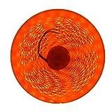 Apatner Waterproof Orange LED Light 3528SMD 300LED 5M/16FT Flexible Light Strip DC12V 60LED/M (Color: Orange)