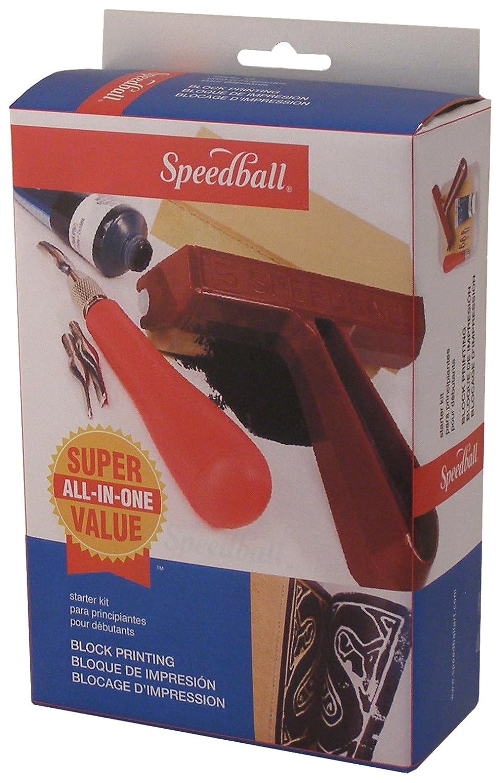 Speedball Super Value Block Printing Starter Kit