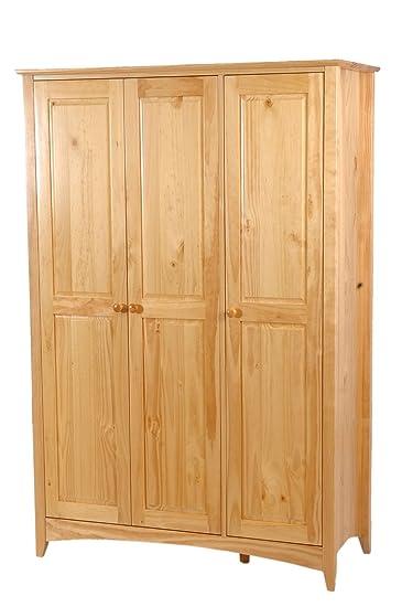 CHELSEA 3 DOOR WARDROBE - Pine