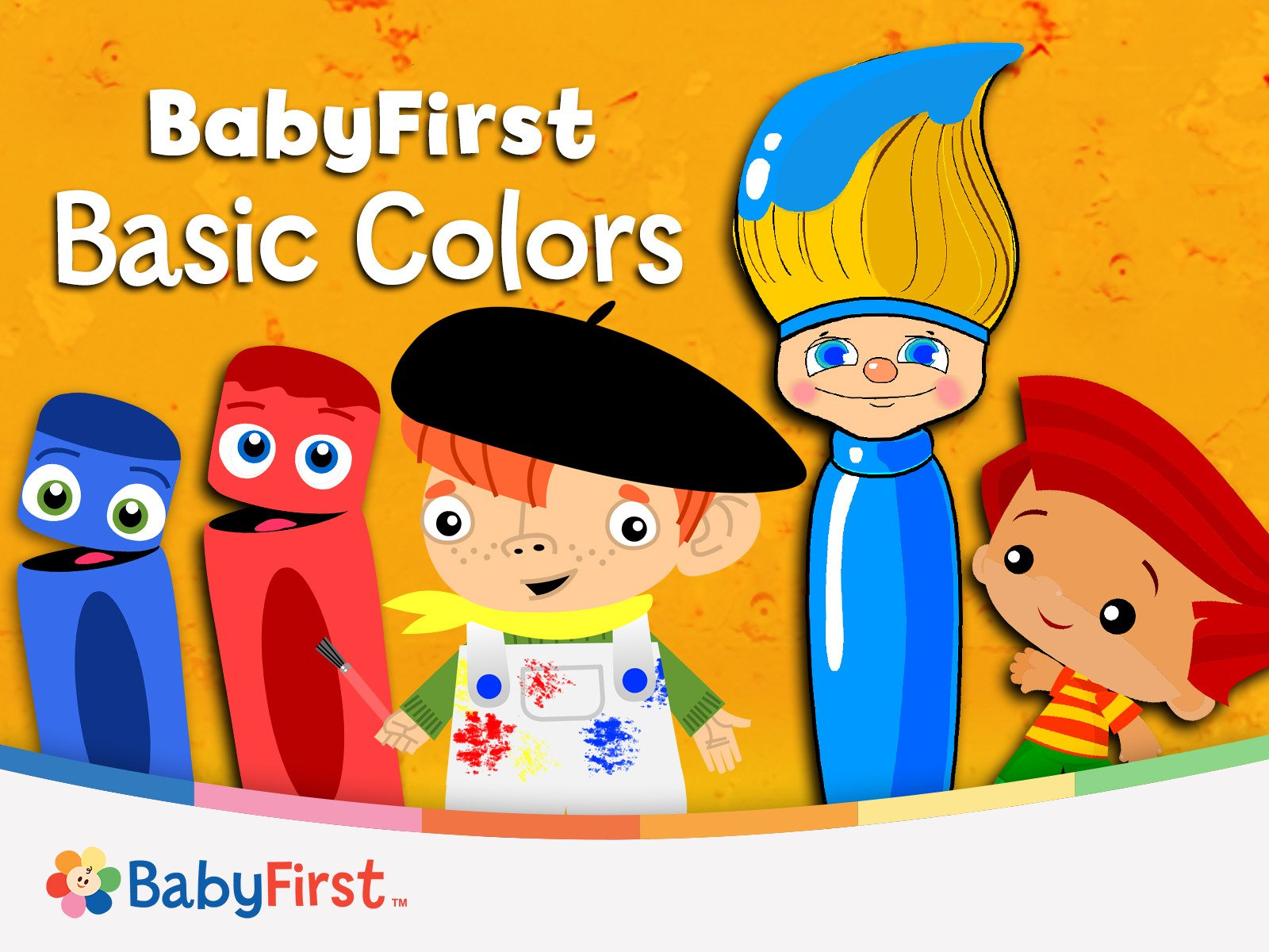 Basic Colors: Primary Colors and Art for Babies - Season 1